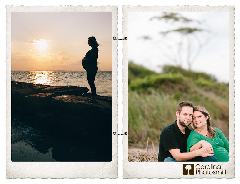 beach maternity, Paige & Chris | Baby's Almost Here