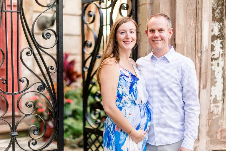 historic Charleston maternity portraits, Historic Charleston Maternity Portraits