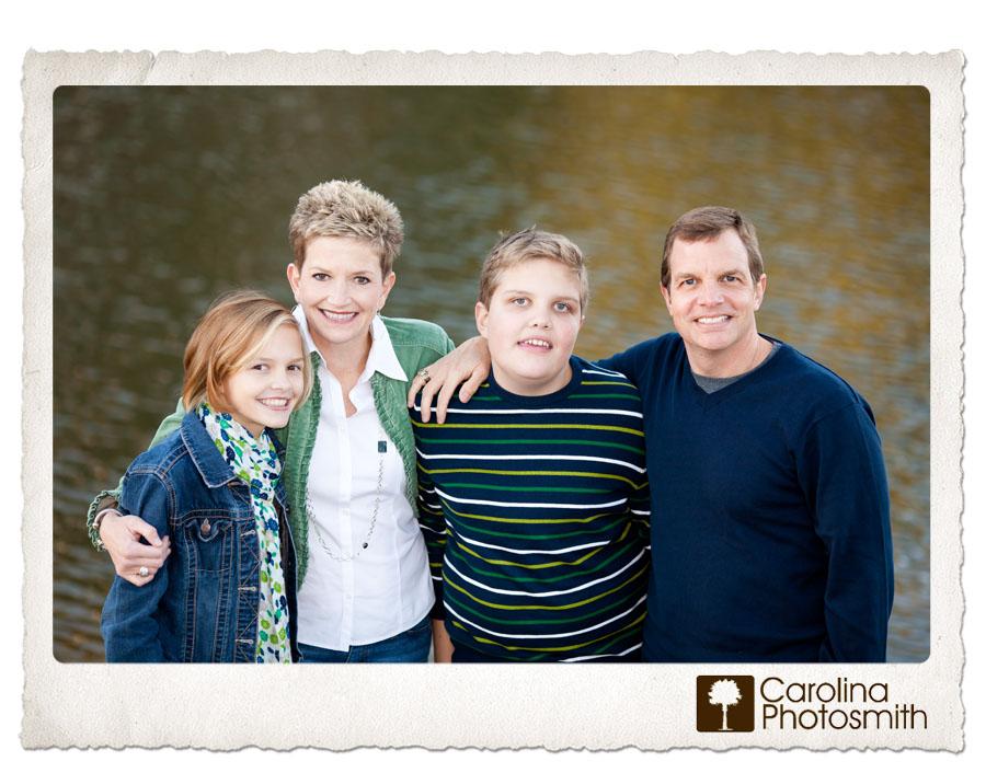 Carolina Photosmith Family Photography - Wardrobe ideas: Navy, green, some stripes, a floral.