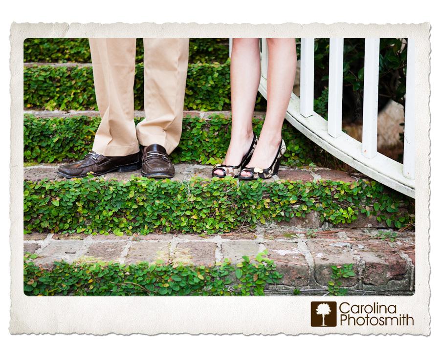 Faceless Friday   Charleston Engagement