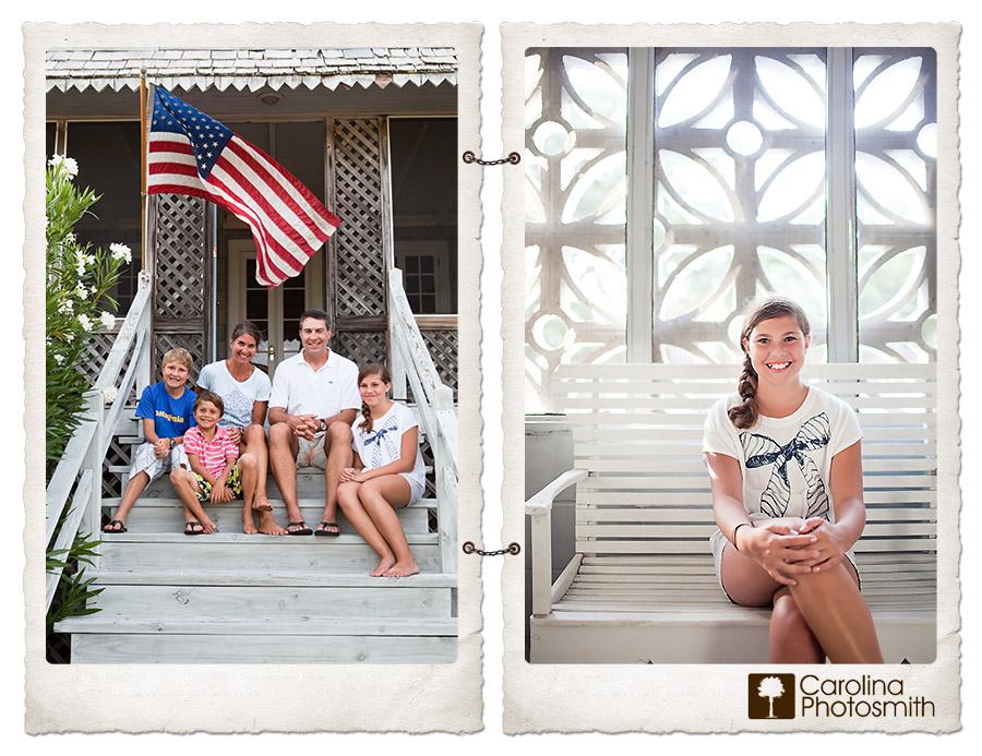 Americana and an old-school beach house chock full of memories by Carolina Photosmith