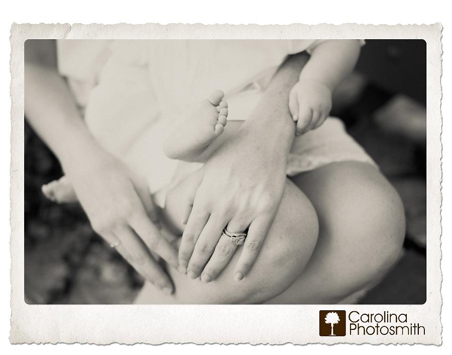 Mom loves baby soft by Charleston photographer Carolina Photosmith