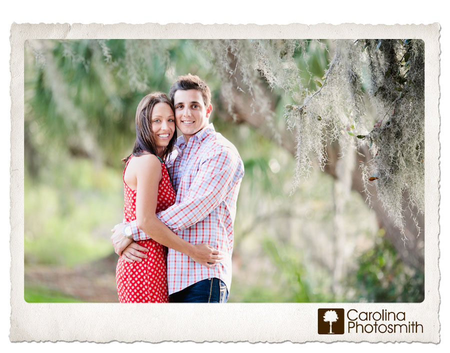 Engagement photography in the great outdoors by Carolina Photosmith.