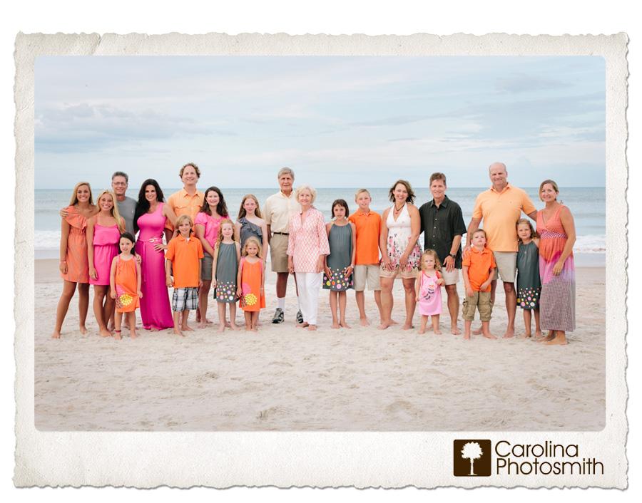 Large Family Photo Clothing Ideas