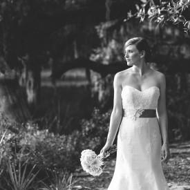 Bridal portrait at Cypress Trees Plantation on Edisto Island. © Carolina Photosmith
