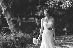 Bridal portrait at Cypress Trees Plantation on Edisto Island. © Carolina Photosmith