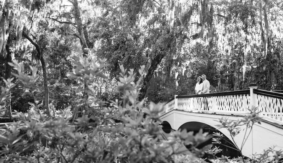 Magnolia Plantation Engagement featured on A Lowcountry Wedding