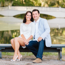 Magnolia Plantation engagement by Carolina Photosmith