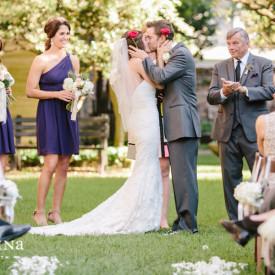 Confederate Home wedding in Charleston featured on Borrowed & Blue © Carolina Photosmith