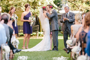 Confederate Home wedding in Charleston featured on Borrowed & Blue © Carolina Photosmith