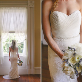 Elegant bride, historic location. Confederate Home garden wedding in historic Charleston © Carolina Photosmith