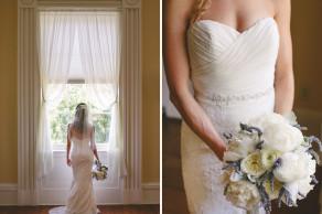 Elegant bride, historic location. Confederate Home garden wedding in historic Charleston © Carolina Photosmith