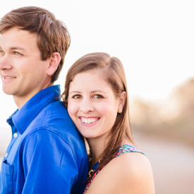 Colorful, relaxed Lowcountry engagement session at DeBordieu. © Carolina Photosmith