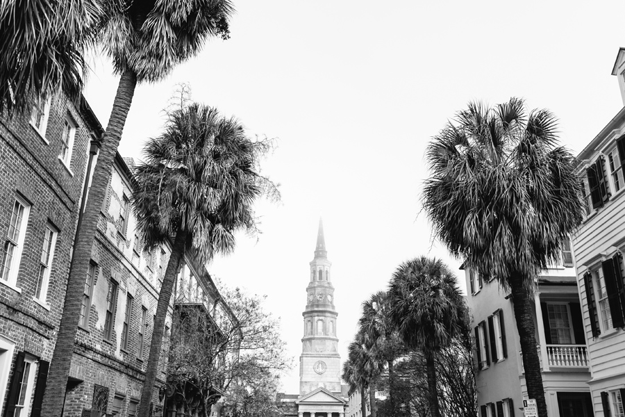 Church street as fog lifts © Carolina Photosmith