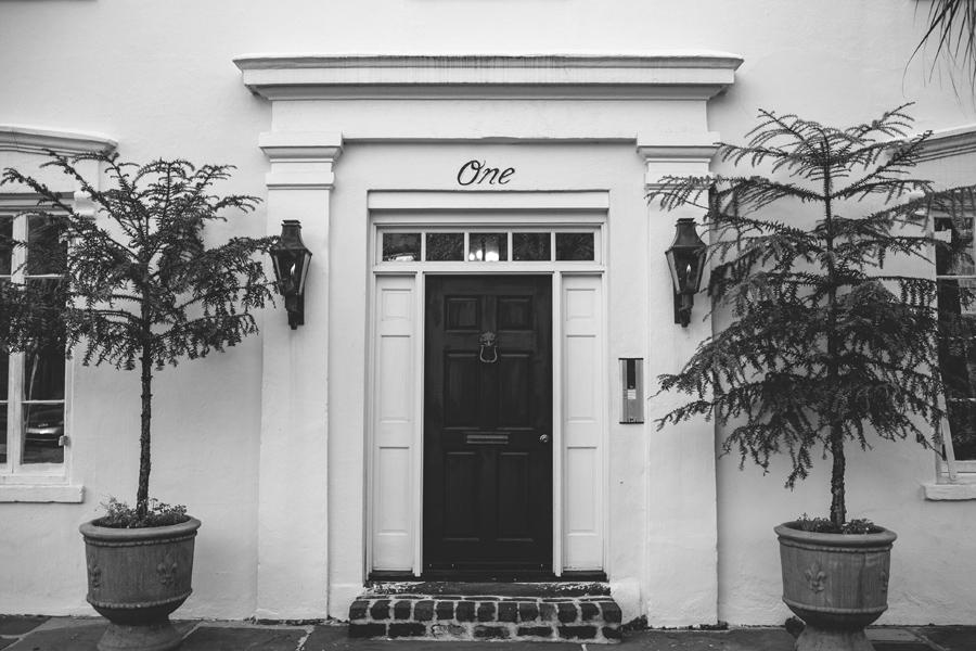 One. Singular Sensation. Or Charleston address. © Carolina Photosmith