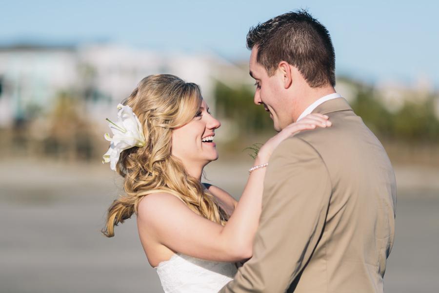 Beach wedding photography by Carolina Photosmith of Mount Pleasant, SC