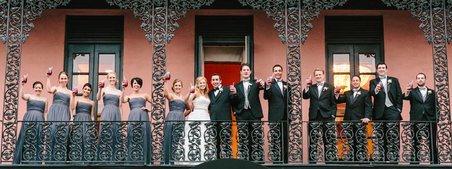 Mills House wedding party © Carolina Photosmith