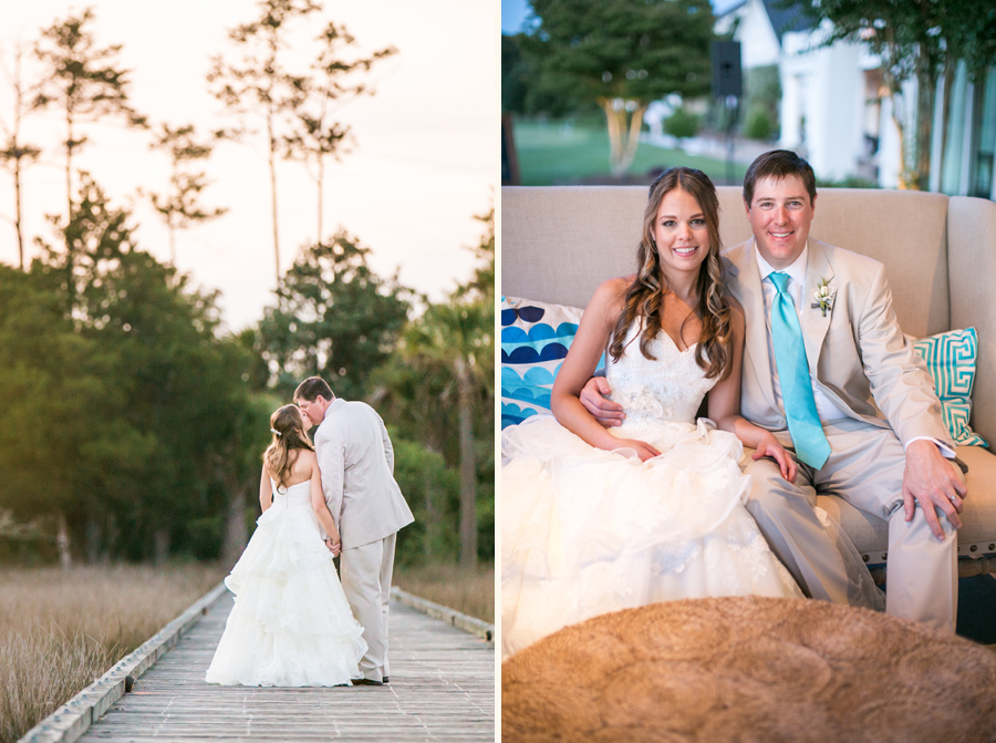 Newlywed portraits at Daniel Island Club © Carolina Photosmith