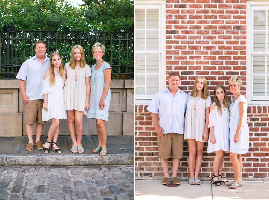 Easy, breezy family photography in historic Charleston, SC. © Carolina Photosmith