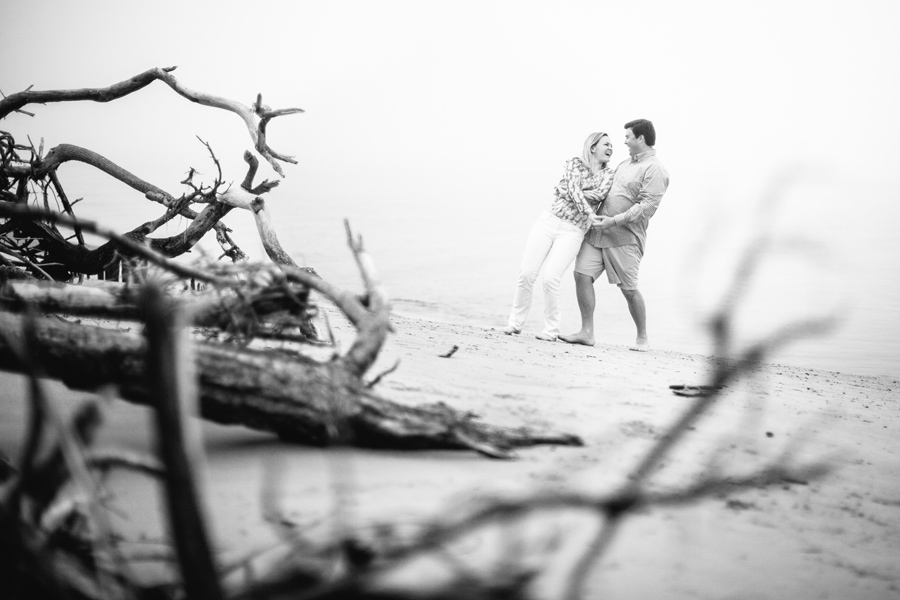 fun-foggy-Folly-Beach-engagement-session-004