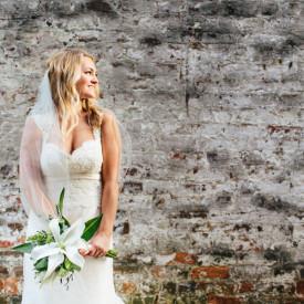 Look into the light! Historic Charleston bridal portraits by Carolina Photosmith