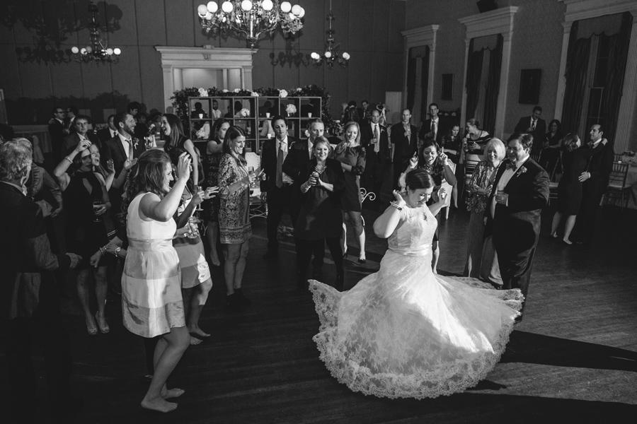 Hibernian Hall reception with a great band and loads of dancing! © Carolina Photosmith