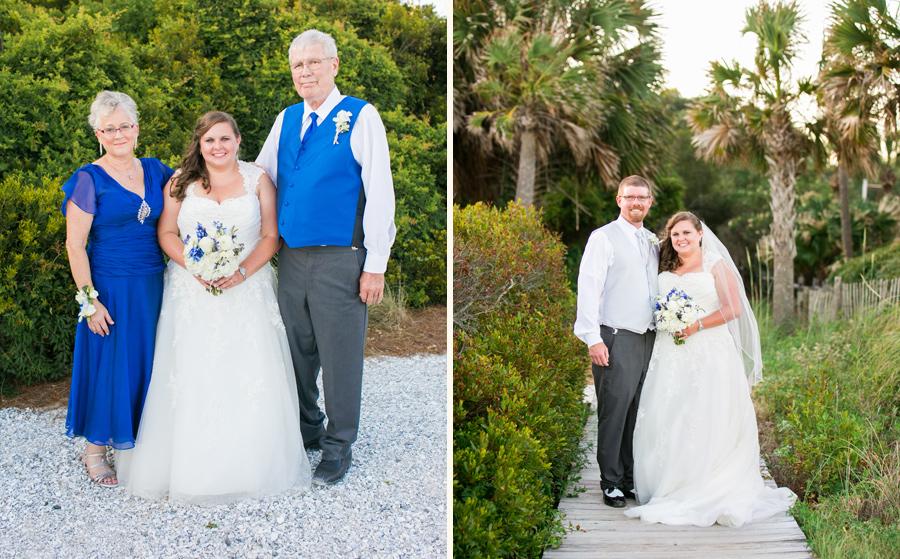 Wild Dunes wedding at Seaside Point © Carolina Photosmith