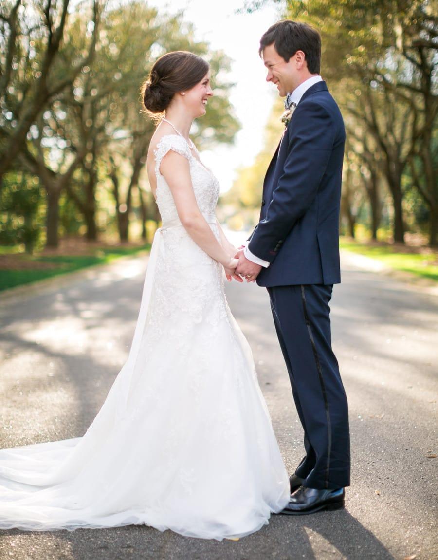 DeBordieu Newlyweds in Georgetown, SC © Carolina Photosmith
