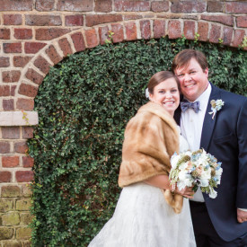 Meg and Chris's Hibernian Hall wedding in historic Charleston © Carolina Photosmith
