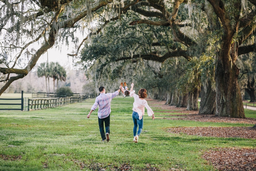 Spring fling at Boone Hall in Mount Pleasant, SC, Family photogr
