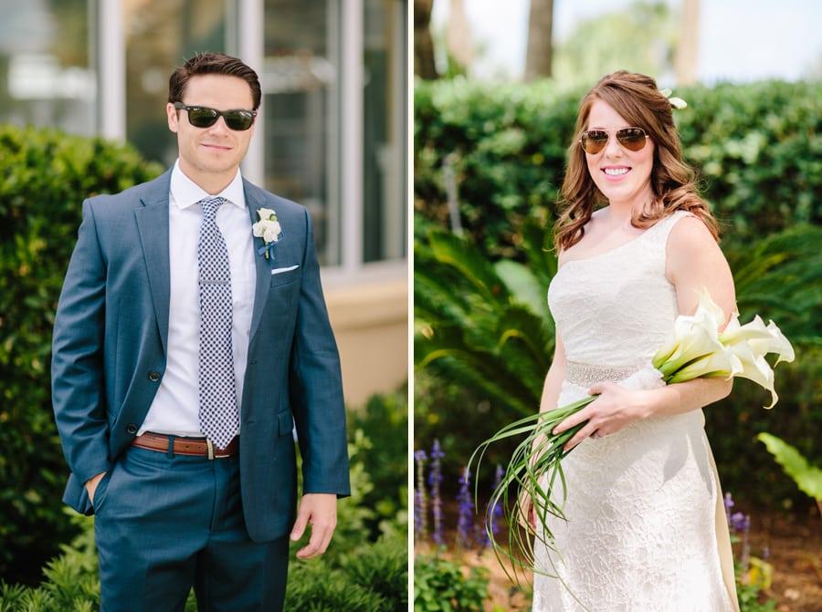 St Simons Island Wedding at King & Prince resort © Carolina Pho