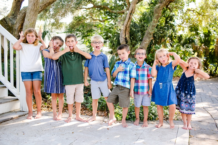 Gold medal family photography is fun, colorful and whimsical
