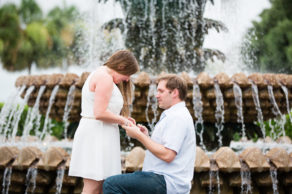 Charleston proposal four days before surprise wedding
